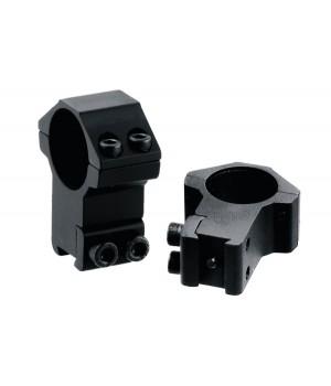 Кольца LEAPERS AccuShot 25,4 мм, высокие, на призму 10-12 мм