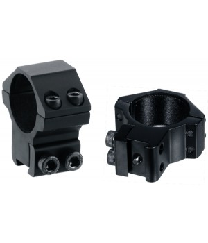 Кольца LEAPERS AccuShot 30 мм, средние, на призму 10-12 мм
