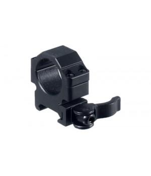 Кольца Leapers UTG 25,4 мм, низкие, на Picatinny, с рычажным зажимом