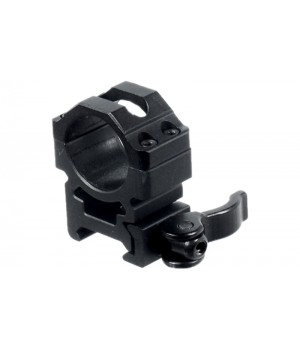 Кольца Leapers UTG 25,4 мм, высокие, на Picatinny, с рычажным зажимом
