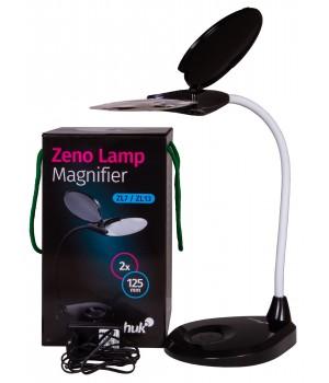 Лупа-лампа Levenhuk Zeno Lamp ZL7, черная