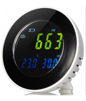 Гигрометр Bresser Air Quality INV с датчиком CO2