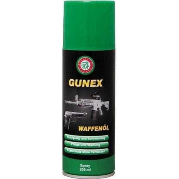 масло Ballistol Gunex 2000 оружейное, спрей 200 мл