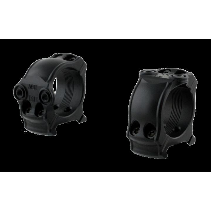 Кольца охотничьи Spuhr D30мм с двумя интерфейсами для установки на Picatinny, H19мм