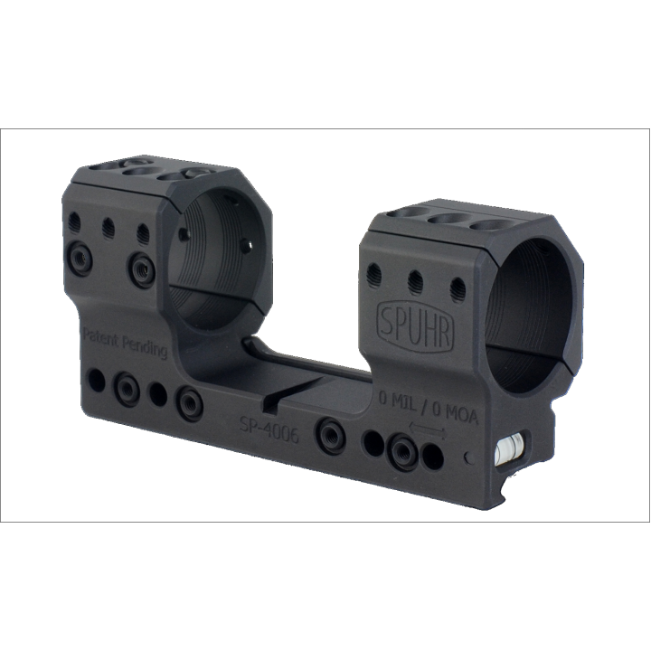 Тактический кронштейн SPUHR D34мм для установки на Picatinny, H34мм, без наклона