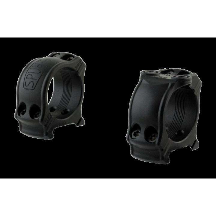 Кольца охотничьи Spuhr D30мм с одним интерфейсом для установки на Picatinny, H19мм