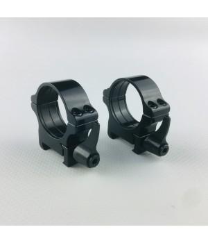 Кольца Rusan быстросъемные Weaver на 30мм H8 рычажные