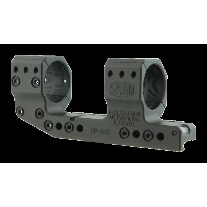 Тактический кронштейн SPUHR D34мм для установки на Picatinny, H38мм, наклон 6MIL/20.6MOA, с выносом
