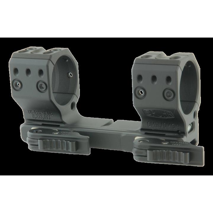 Тактический быстросъемный кронштейн Spuhr D36мм для установки на Picatinny, H38мм, без наклона, с выносом