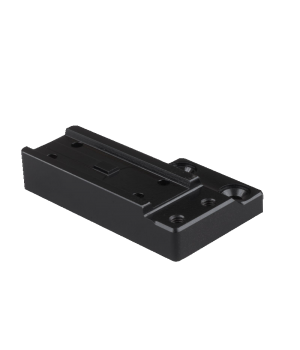 Левосторонний адаптер  для установки коллиматорных прицелов Aimpoint Micro на кронштейны Spuhr
