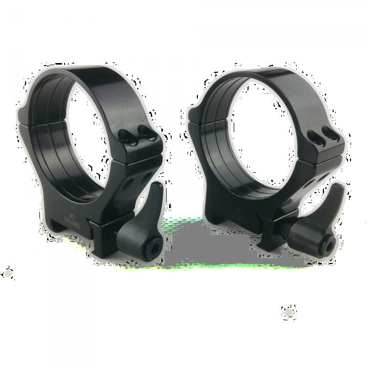 Кольца Rusan быстросъемные Weaver на 40мм H11 рычажные