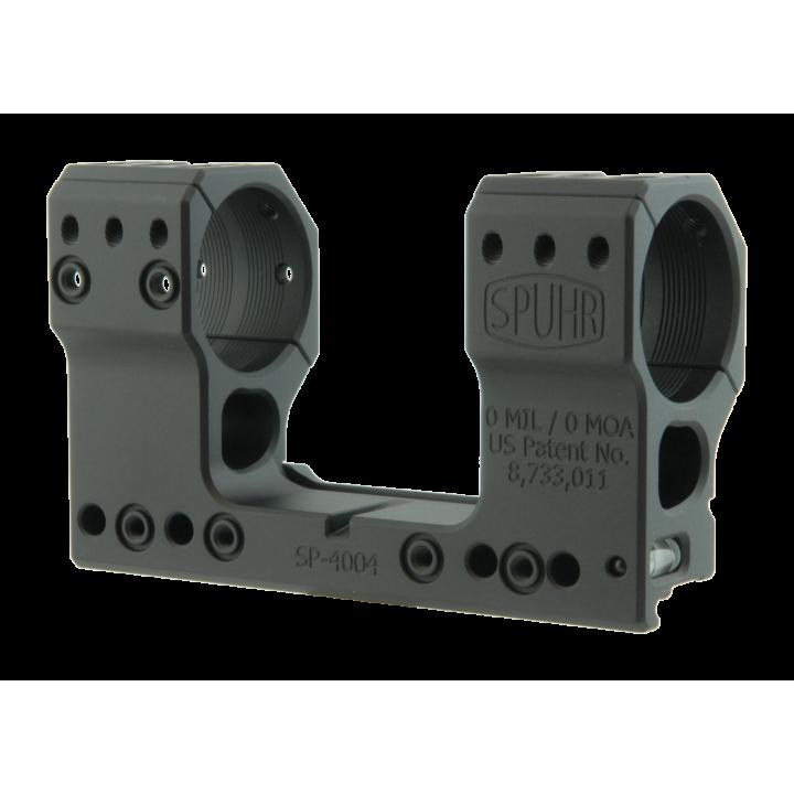 Тактический кронштейн SPUHR D34мм для установки на Picatinny, H48мм, без наклона
