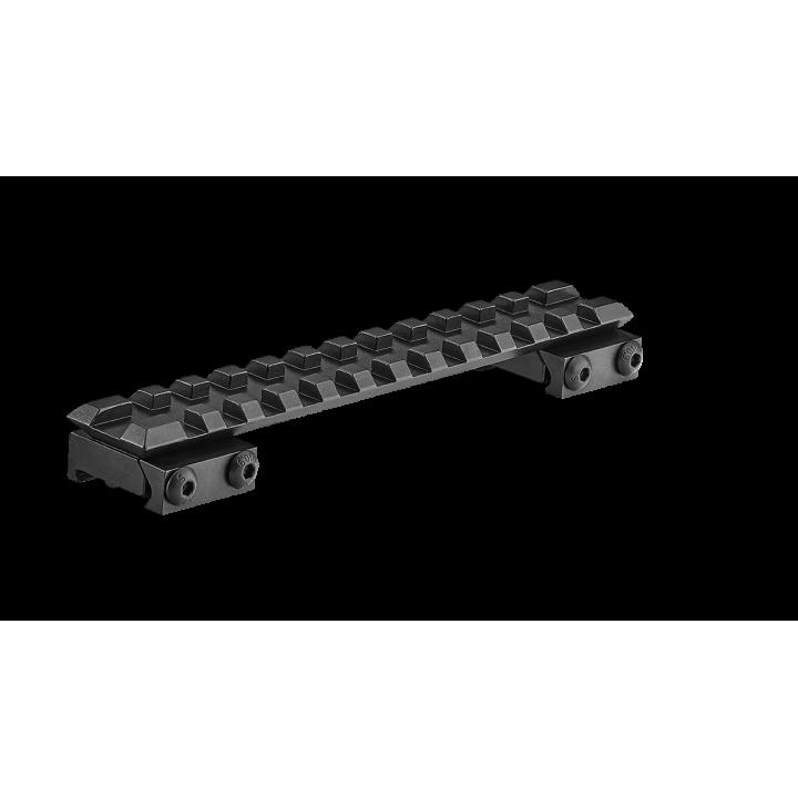 Планка KOZAP Picatinny/Weaver на CZ550/CZ557 стальная (единое) (No68/2) 13,5 см