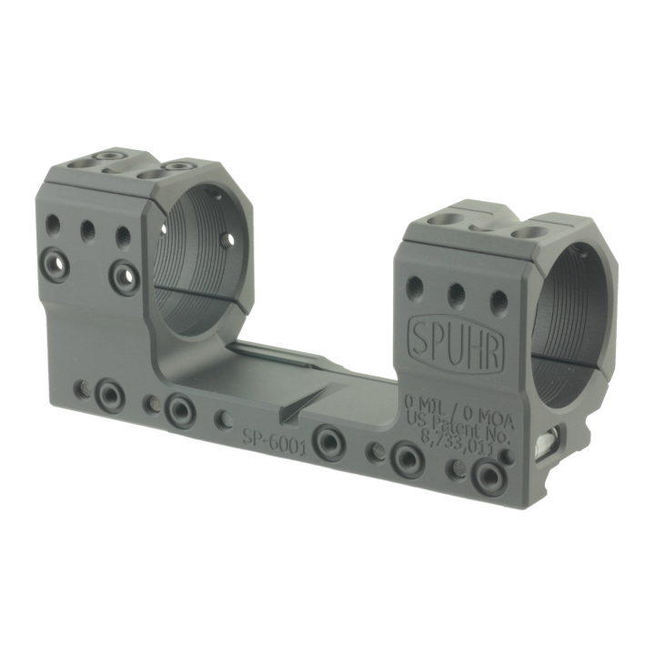 Тактический кронштейн SPUHR D36мм для установки на Picatinny, H30мм, без наклона