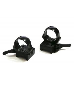 Быстросъемные раздельные кольца EAW на Weaver 30мм, низкие (365-65800)