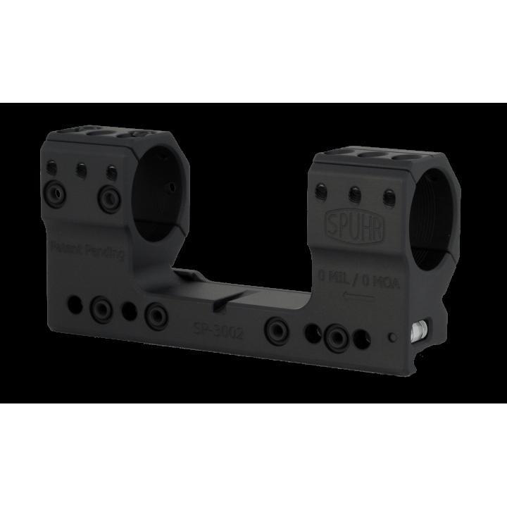 Тактический кронштейн SPUHR D30мм для установки на Picatinny, H38мм, без наклона