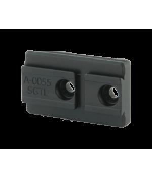 Адаптер для установки коллиматорных прицелов Aimpoint ACRO на кронштейны Spuhr