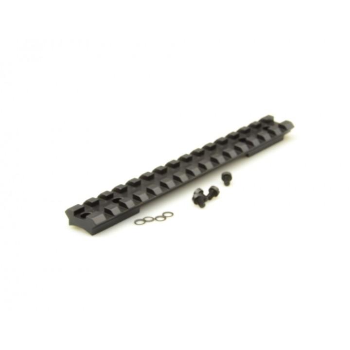 Планка KOZAP Picatinny/Weaver на Savage 11/111 Е=10 мм стальная (No.68)
