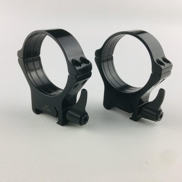 Кольца Rusan быстросъемные Weaver на 40мм H14 рычажные
