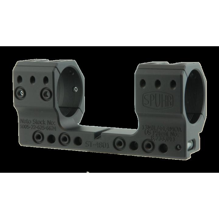 Тактический кронштейн SPUHR D34мм для установки на Picatinny, H35мм, наклон 13MIL/44,4MOA для Tikka T3, TRG