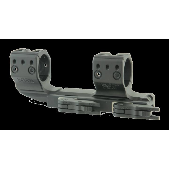 Тактический быстросъемный кронштейн Spuhr D30мм для установки на Picatinny, H34мм, без наклона, с выносом