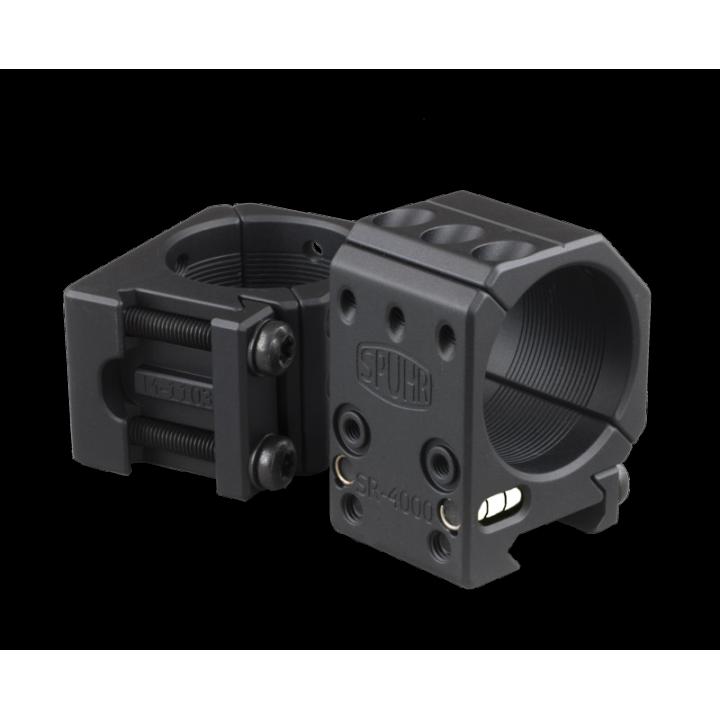 Тактические кольца Spuhr D34mm для установки на Picatinny, H25,4мм,без наклона
