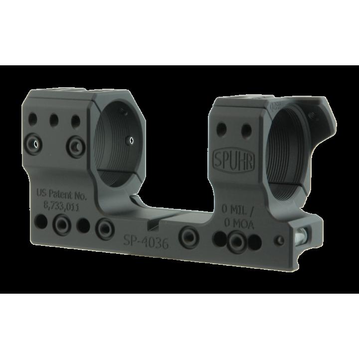 Тактический кронштейн SPUHR D34мм для установки на Picatinny для Schmidt & Bender 5-20 PM II Ultra Short, H34мм, без наклона