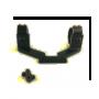 Кронштейн Rusan боковой кольца 30мм под PAP/SKS (СКС) сталь