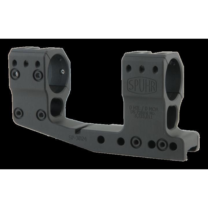 Тактический кронштейн SPUHR D30мм для установки на Picatinny, H48мм, с выносом, без наклона