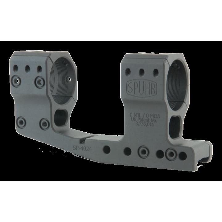 Тактический кронштейн SPUHR D34мм для установки на Picatinny, H48мм, с выносом, без наклона