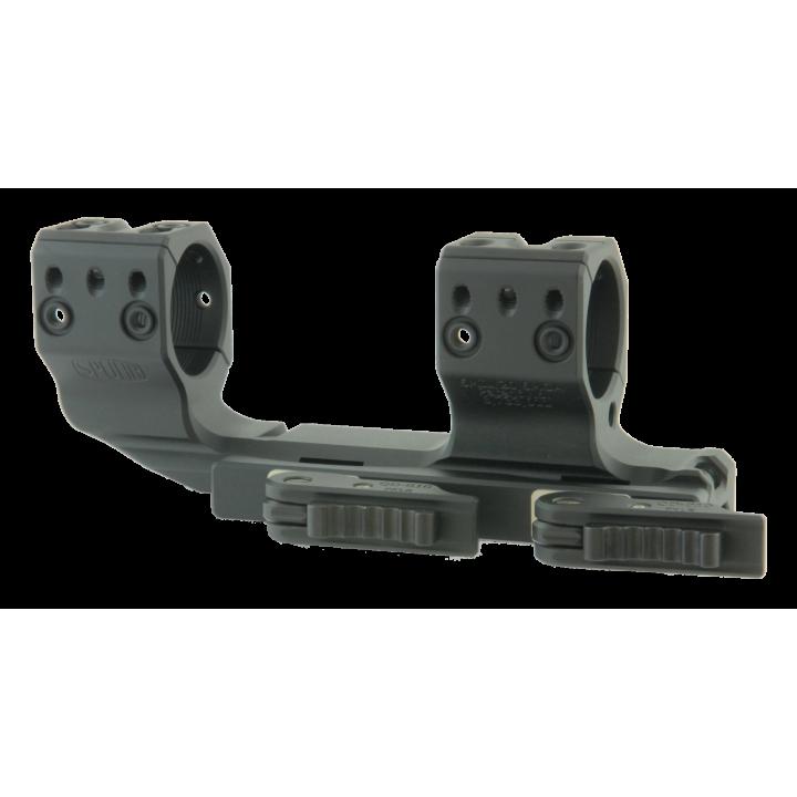 Тактический быстросъемный кронштейн Spuhr D30мм для установки на Picatinny, H38мм, наклон 6MIL/20.6MOA, с выносом (QDP-3616)
