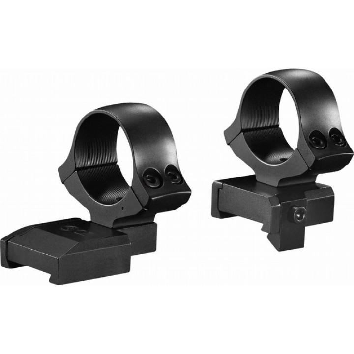 Кольца раздельные KOZAP CZ550/557 Magnum D30мм BH19.8 (No.17) высокие