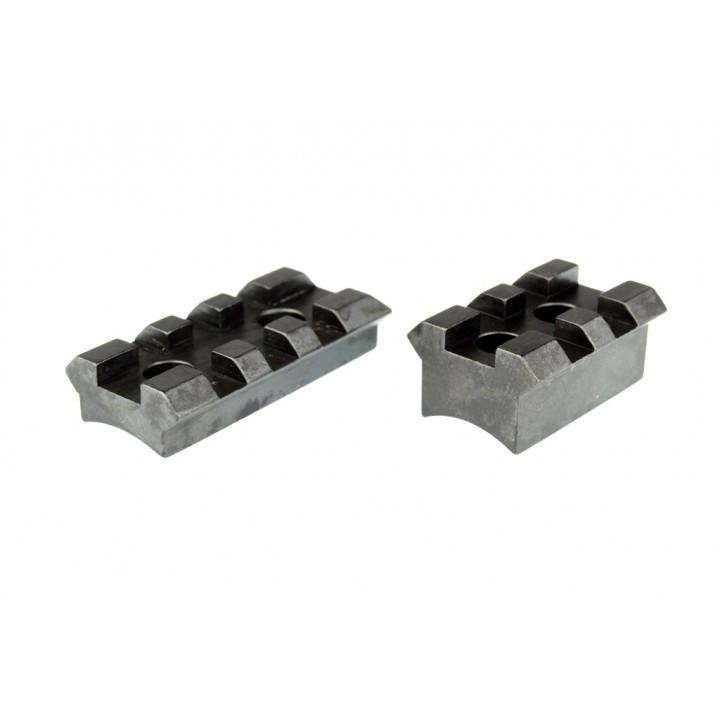 Планка KOZAP Picatinny/Weaver на Mauser M12 стальная  (раздельная) (No.67)