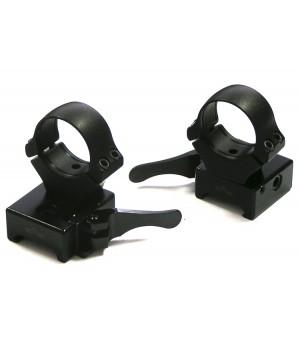 Быстросъемные раздельные кольца EAW на Weaver 26мм, высокие (365-80800)