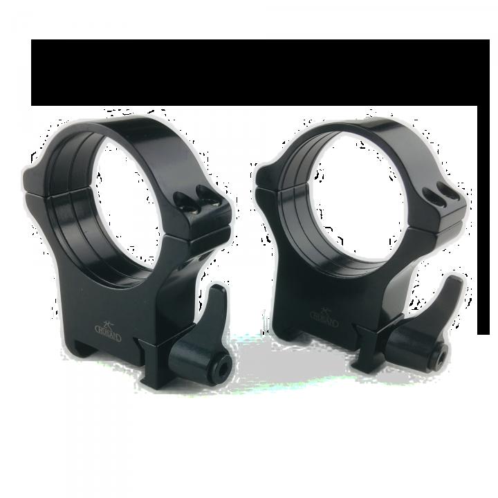 Кольца Rusan быстросъемные Weaver на 34мм H18 рычажные
