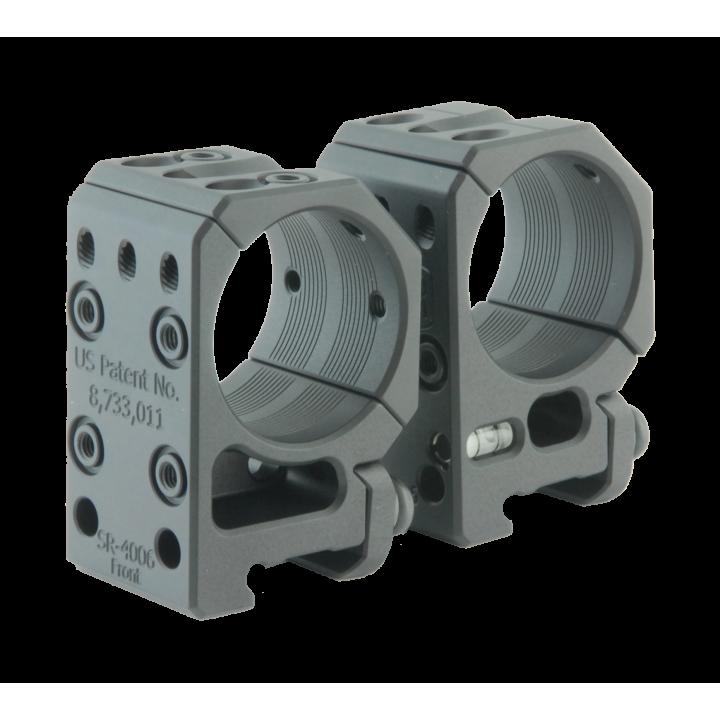 Тактические кольца Spuhr D34mm для установки на Picatinny, H34мм,без наклона