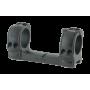 Кронштейн Spuhr D30мм для установки на Picatinny, H25,4мм, Interface без наклона, с доп.планкой