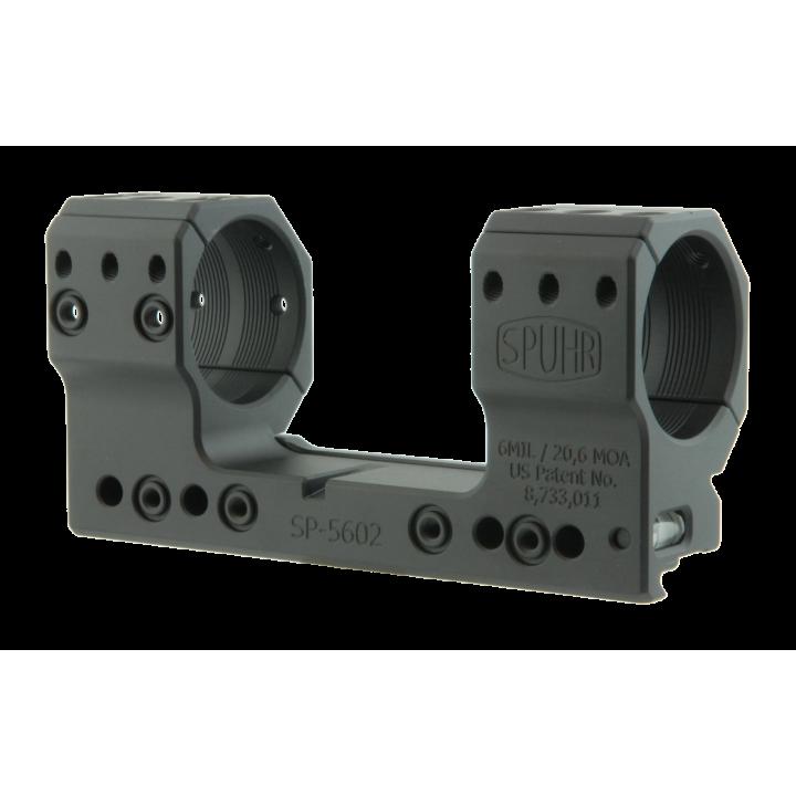 Тактический кронштейн SPUHR D35мм для установки на Picatinny, H38мм, наклон 6MIL/ 20.6MOA
