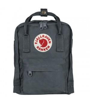 Рюкзак Fjallraven Kanken Mini, серый, 20х13х29 см, 7 л