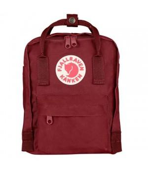 Рюкзак Fjallraven Kanken Mini, темно-красный, 20х13х29 см, 7 л