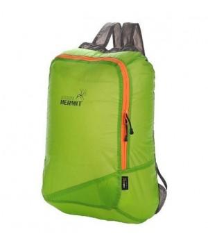 Рюкзак ультралёгкий Green-Hermit Ultralight-Daypack 25, 63г/25л. MACAW GREEN, CT122511