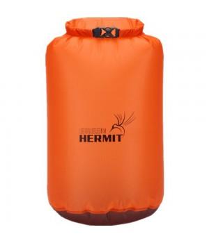 Гермомешок ультралёгкий Green-Hermit Ultralight-Dry Sack SUNGLOWORANGE/6L/38г/17x11x40см, OD110626