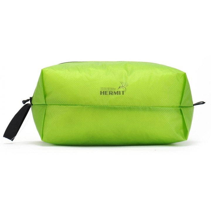 Мешок на молнии ультралёгкий Green-Hermit Ultralight-Zipper Sack. S. 20x13x10см. 5л. MACAW GREEN, OD320511