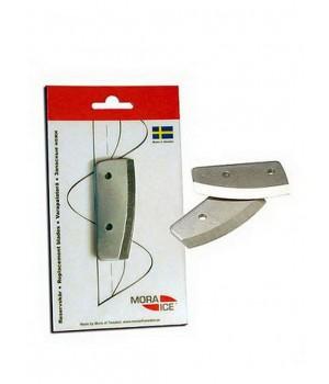 Сменные ножи MORA ICE для ручного ледобура Micro, Arctic, Expert Pro 200 мм (с болтами для крепления)