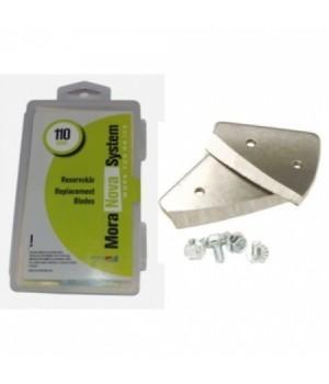 Сменные ножи MORA ICE для ручного ледобура Nova System 110 мм (с болтами для крепления)