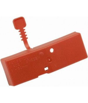 Чехол на ножи ручных ледобуров MORA ICE Easy диам 150 мм (цвет красный)