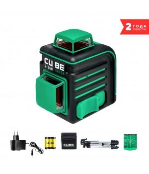 Лазерный уровень ADA CUBE 2-360 GREEN PROFESSIONAL EDITION