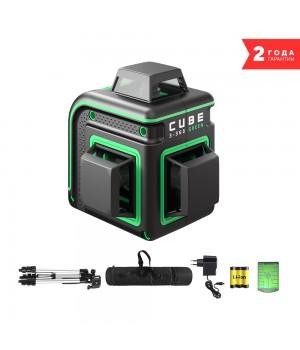 Лазерный уровень ADA CUBE 3-360 GREEN PROFESSIONAL EDITION