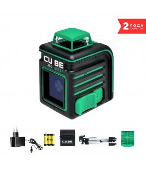 Лазерный уровень ADA CUBE 360 GREEN PROFESSIONAL EDITION