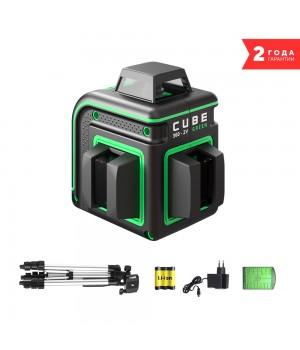 Лазерный уровень ADA CUBE 360 2V GREEN PROFESSIONAL EDITION